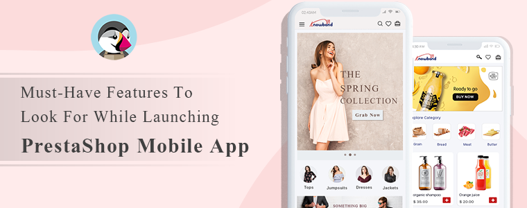 PrestaShop eCommerce Mobile App
