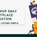 restashop eBay Marketplace integration Make Product Listing Simple