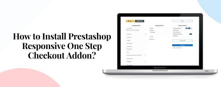 ¿Cómo instalar el complemento Prestashop Responsive One Step Checkout?