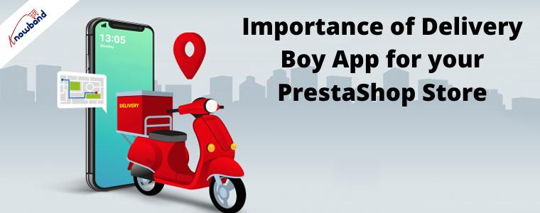 Aplicativo móvel PrestaShop Delivery Boy